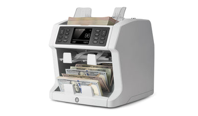 Mixed Bill Counter - Safescan 2985 SX with Value Count & 7 Point Counterfeit Detection