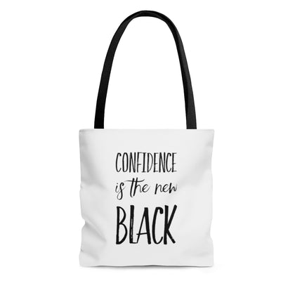 Confidence is the New Black Tote Bag