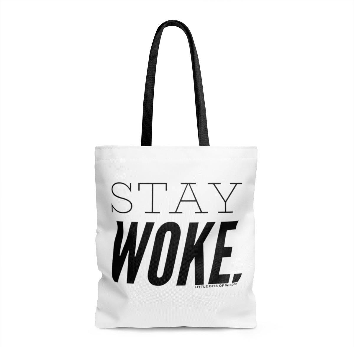 Stay Woke. AOP Tote Bag