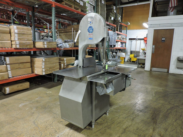 "Biro 3334 16"" Food Processing Commercial Deli Meat Band Saw - 3 PH, 208/230V"