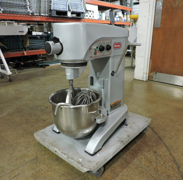 Berkel FMS20 Commercial 20 QT Planetary Mixer w/ 3 Attachments