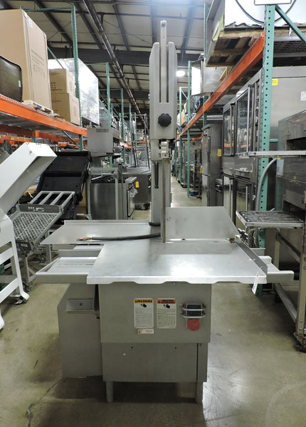 "Biro 3334FH (Fixed Head) 16"" Food Processing Commercial Deli Meat Band Saw - 3PH"