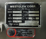 Westglen / Butcher Boy COBRA 16 Commercial Meat Saw