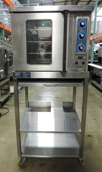 Duke 5/9-E3V-59-BS 1/2 Electric Convection Oven W/ Base Stand (New Controls)