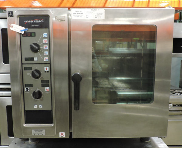 Henny Penny MCS-6 Commercial Electric Combi Oven Half Size