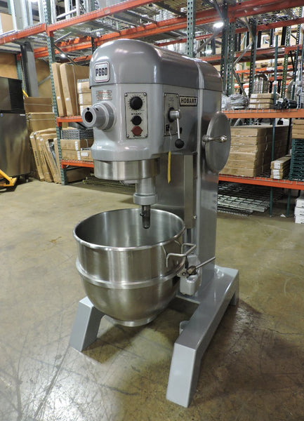 Hobart P660 - 2.5 HP Commercial 60 QT Pizza Dough Mixer