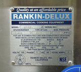 Rankin-Delux GT-48-FSS-C Commercial Thermostatic Gas Griddle