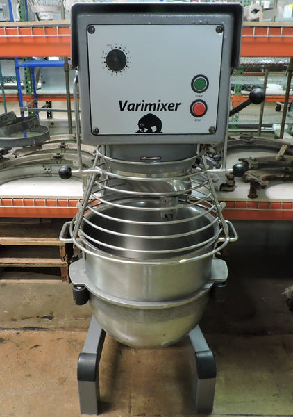 Varimixer W30 Commercial 30 QT Mixer w/ 3 Attachments & Bowl Guard