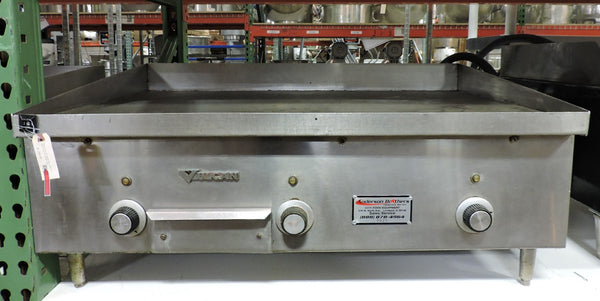 "Vulcan MEG-3 Commercial 36"" Electric Griddle"