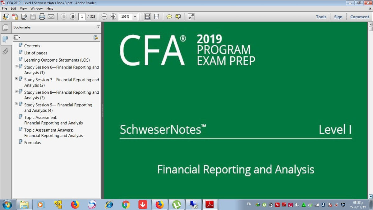Cfa level 1 pdf books