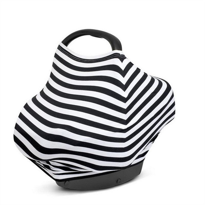 Car Seat Canopy & Nursing Cover Scarf