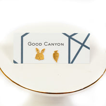 Bunny & Carrot Earrings