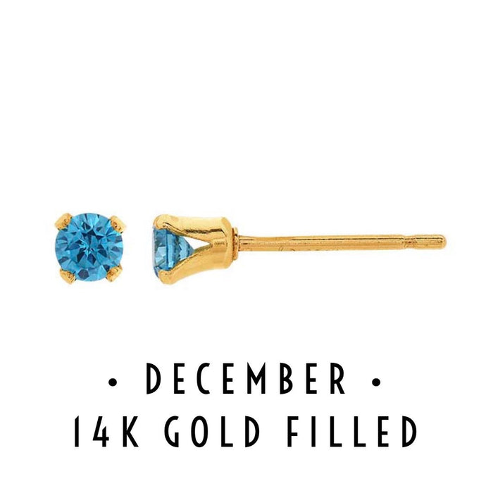 December Birthstone Earrings
