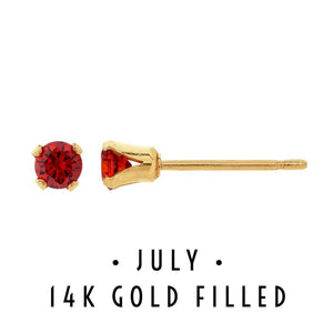 July Birthstone Earrings