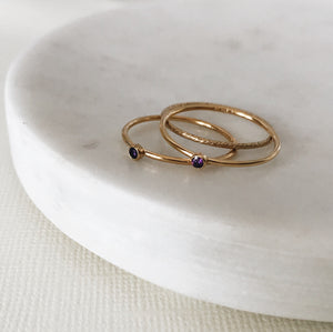 Sparkle Stacking Ring