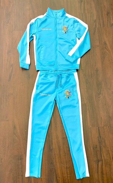 Powder Blue Regular SlumberParty Track Suit
