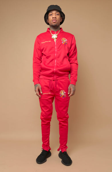 Red Limited SlumberParty Track Suit