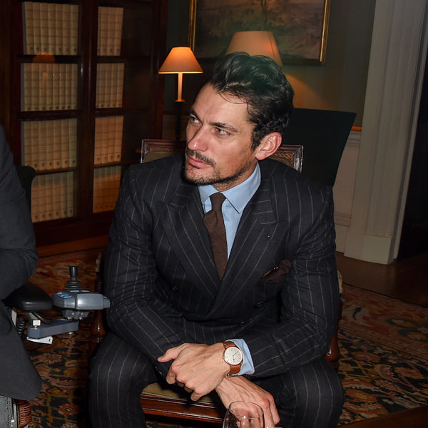 Patron David Gandy Speaks about Style For Soldiers