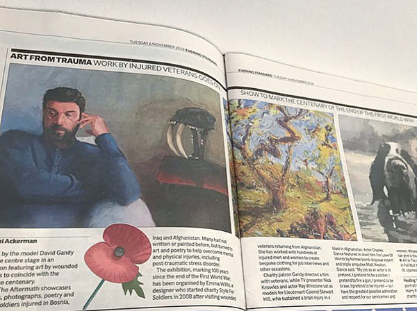Evening Standard: Art by injured veterans