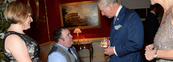 """The Prince of Wales attends the annual Style for Soldiers Christmas Reunion Party"" -  The Royal Household"