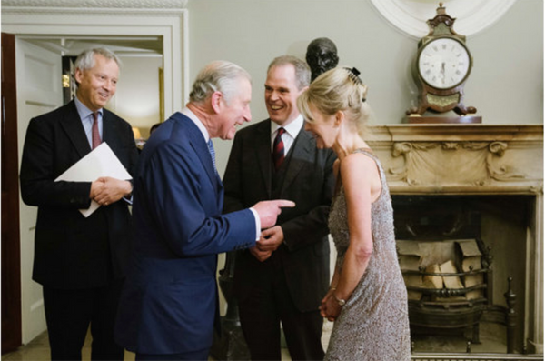 Our Christmas Party at Spencer House, 2016 in the presence of His Royal Highness The Prince of Wales