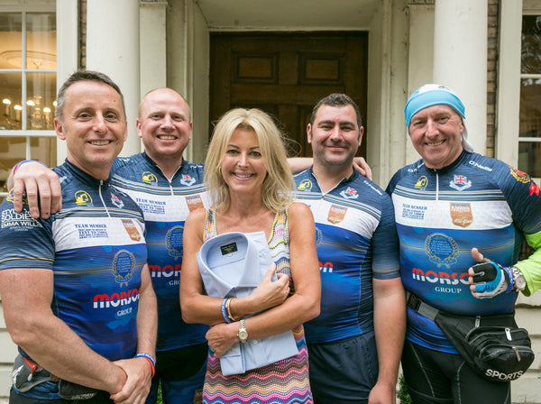 This brave soldier, who is missing three limbs, is somehow cycling across the country in support of Style for Soldiers