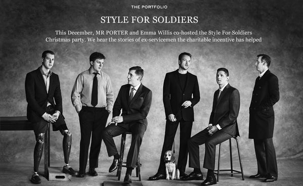 Style for Soldiers: 2013 - Mr Porter