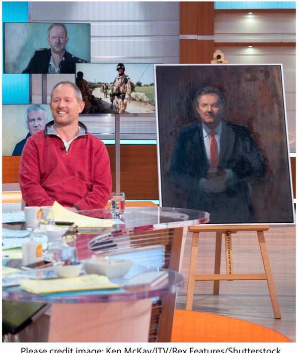 How Painting Saved Stewart Hill's Life | Good Morning Britain