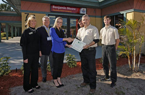 Sarasota Paint New South Location Ribbon Cutting