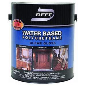 Deft Water Base Poly I/E