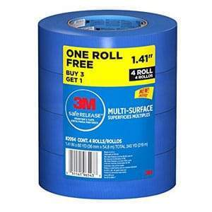 "3M  Blue 1.41"" Tape Buy 3 Get 1 Free"