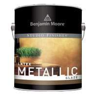 BM Metallic Glaze Pearlescent White