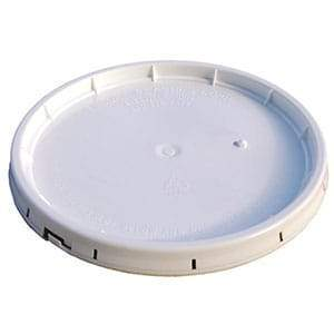 Plastic Bucket Lid White