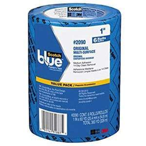 "ScotchBlue™ ORIGINAL Painter's Tape 1"" 9 pack"