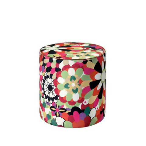 "Omaha Multi Color Pouf 18"" x 18"""
