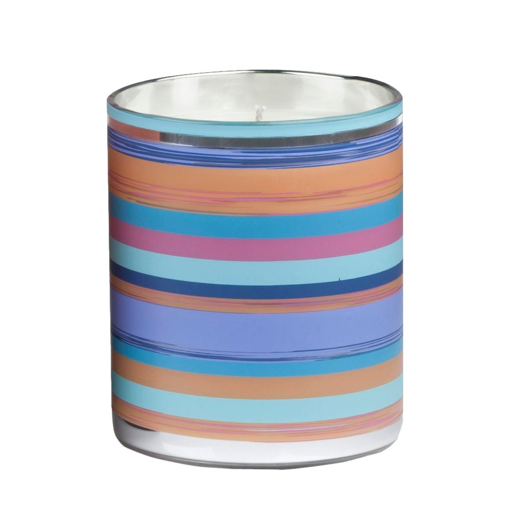 "Laguna Round Multi Color Candle 3"" x 4"""
