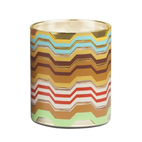 "Maremma Round Multi Color Candle 3"" x 4"""