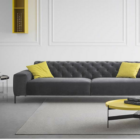 Boston Sofa with Tufted Back, 98
