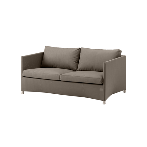 Diamond Tex & Sumbrella Sofa Lounge of 2 Seaters