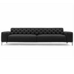 Boston Sofa with Tufted Back 114""