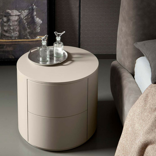 Dedalo Modular Nightstand, Lacquered