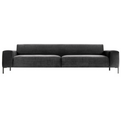 Boston Sofa with Plain Back 98""