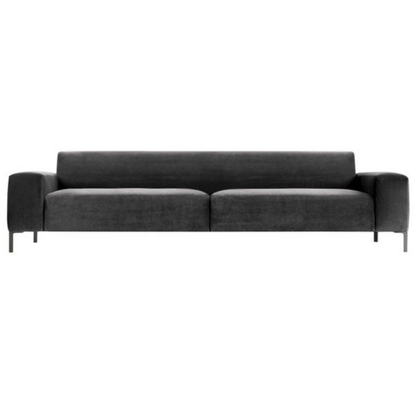 Boston Sofa with Plain Back, 114