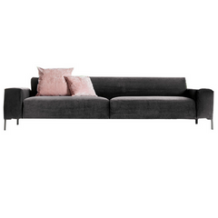 Boston Sofa with Plain Back, 114""