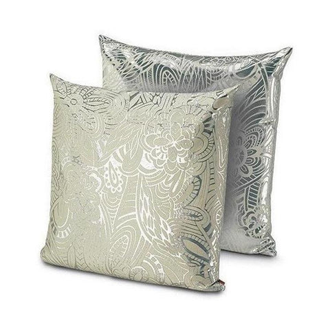 "Khal Silver cushion, 24"" x 24"""