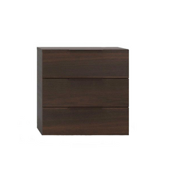 Spazio Nightstand, 3 Drawers