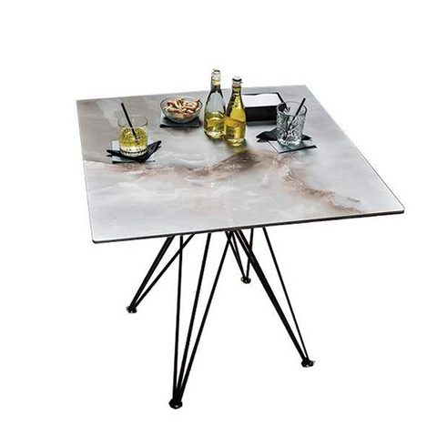 Ralph Keramik Bistrot Square Dining Table