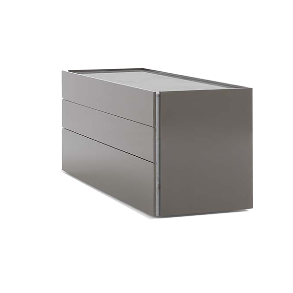 Atlante Dresser, 3 Drawers Wood