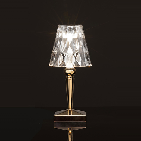 Battery Metallic Lamp