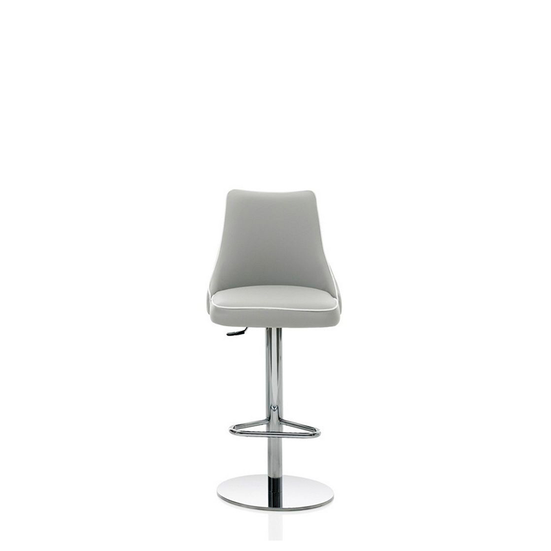 Clara Barstool, Adjustable Height, 17.7-in x 33.5-in